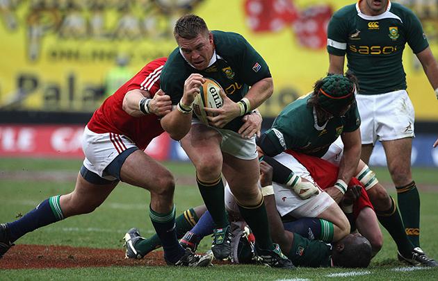 John Smit on facing the British & Irish Lions - Rugby World