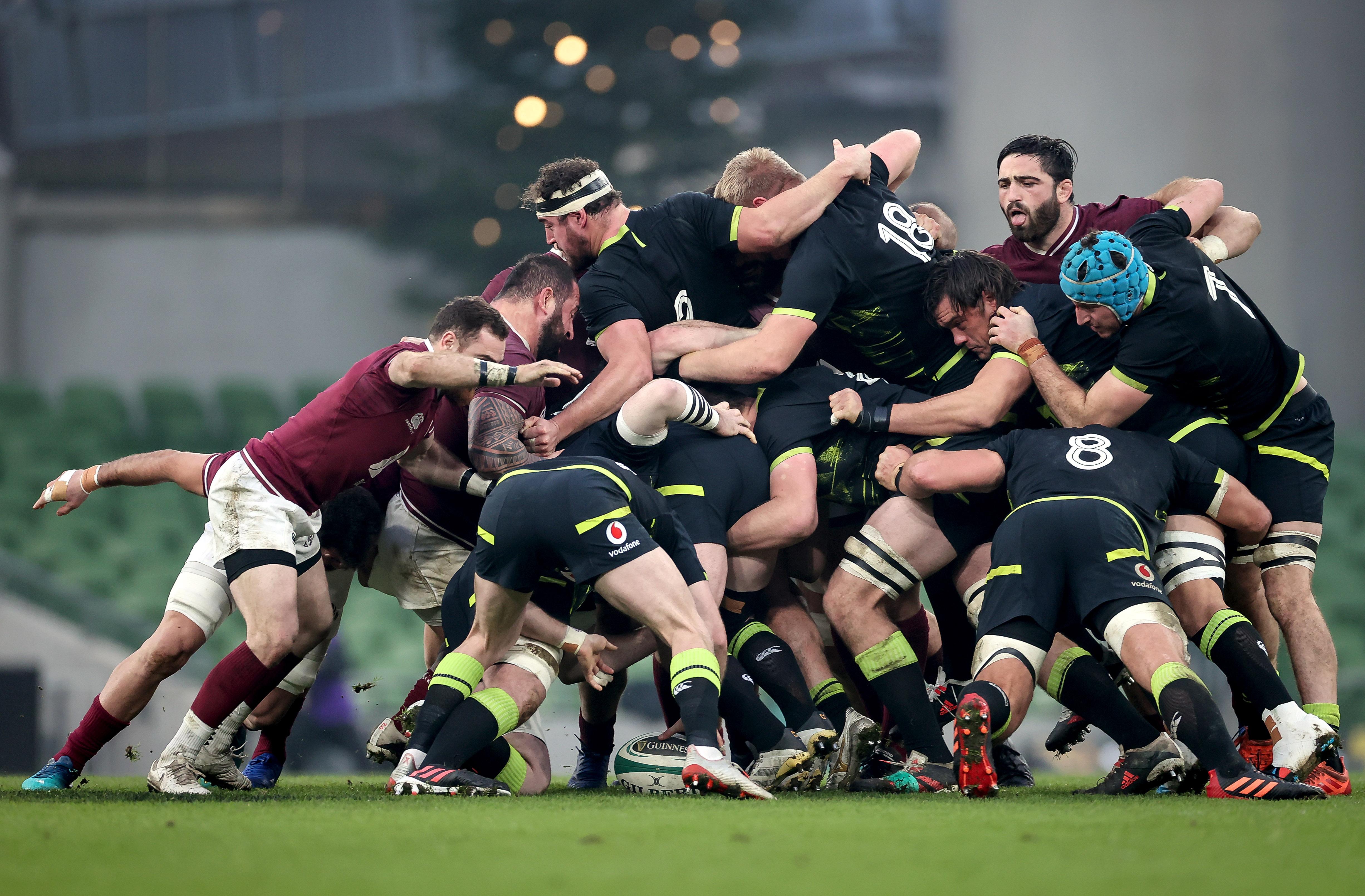 Ireland fail to impress as Georgia register points at last
