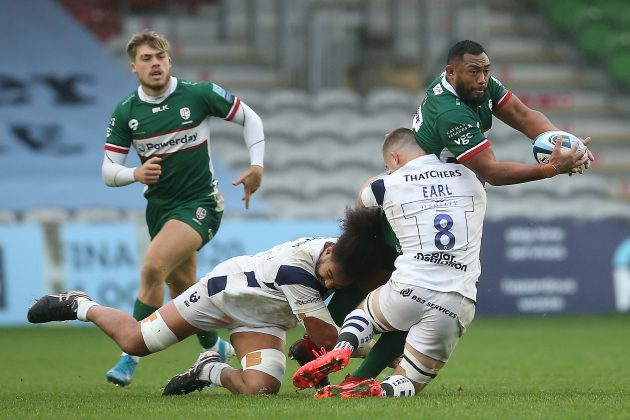 London Irish v Leicester live stream Sekope Kepu