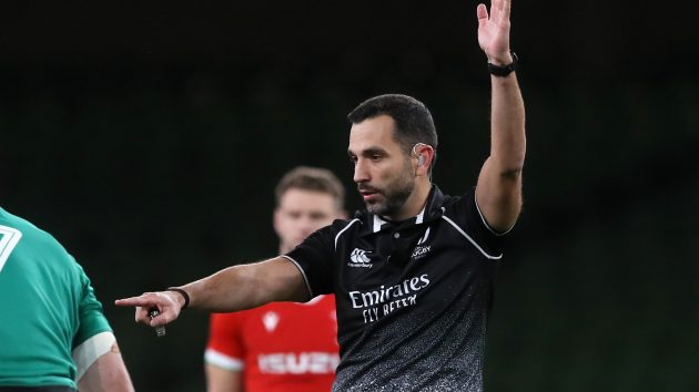 Meet rugby referee Mathieu Raynal - Rugby World