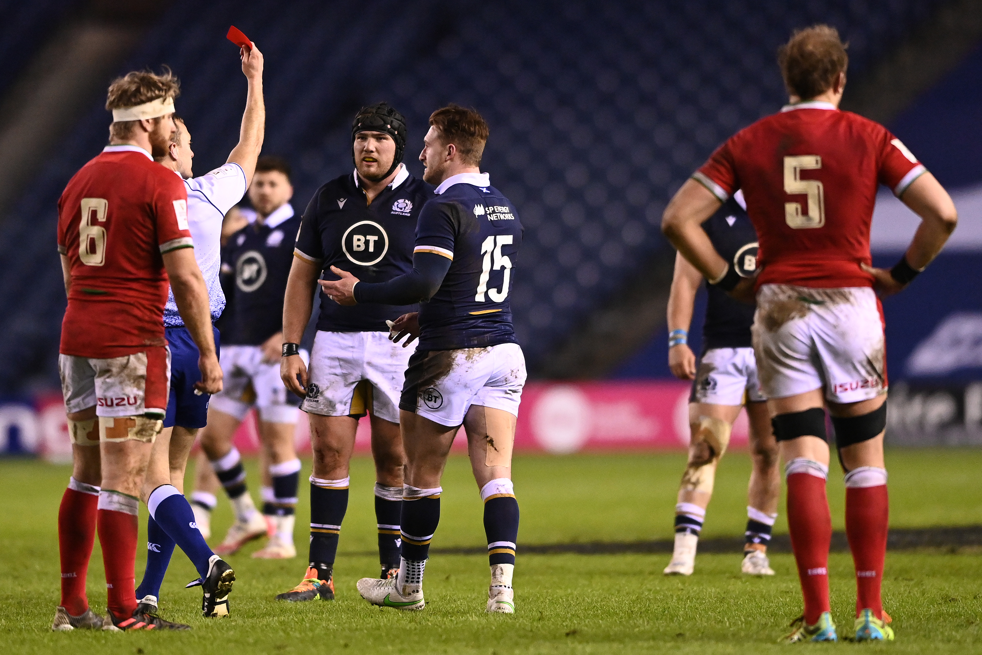Rugby red cards: Sanctions for head contact explained - Rugby World
