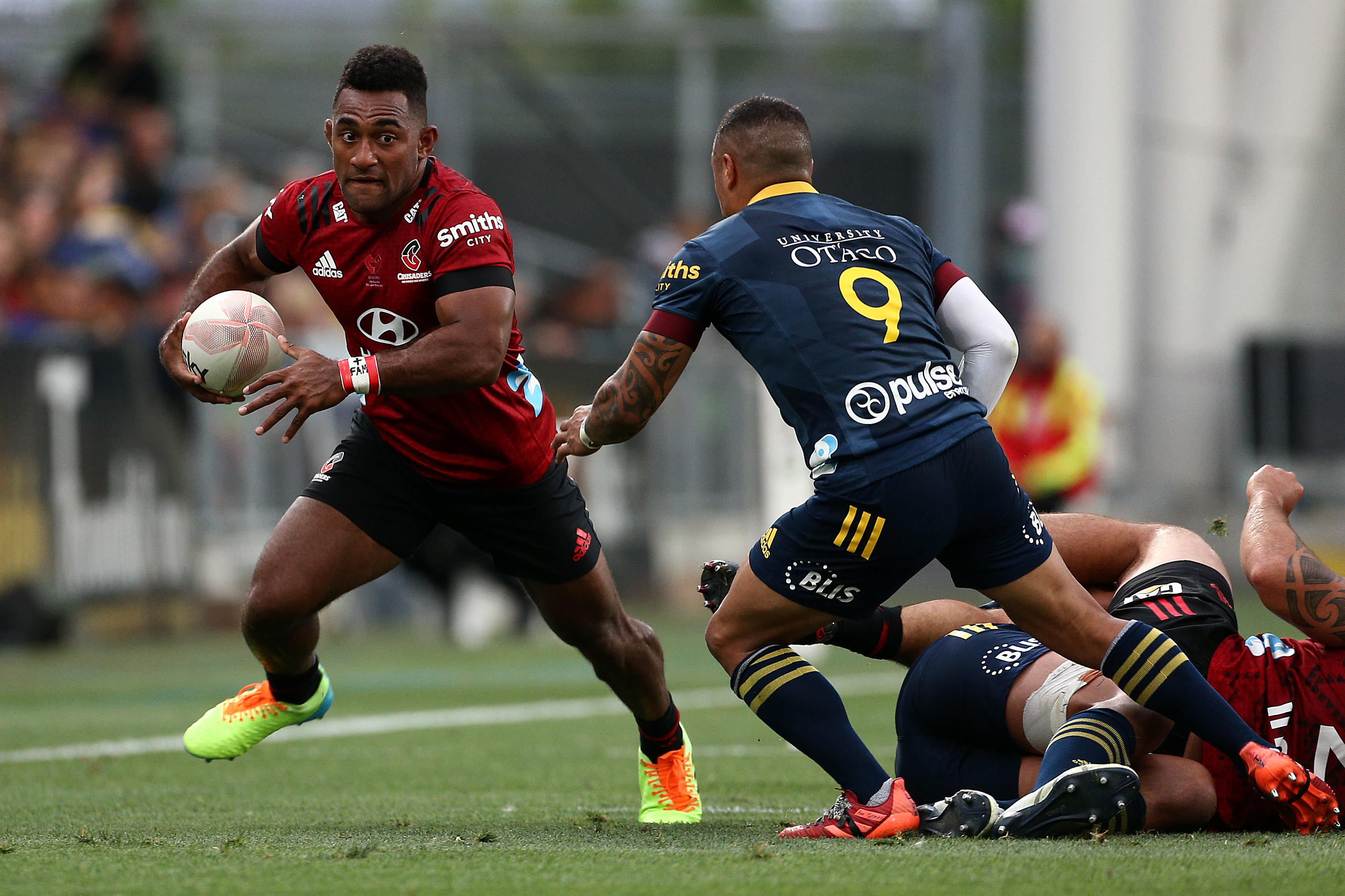 Watch: Sevu Reece kick creates incredible try for Crusaders - Rugby World