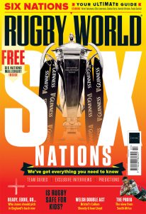 Rugby World magazine's March 2021 edition contents