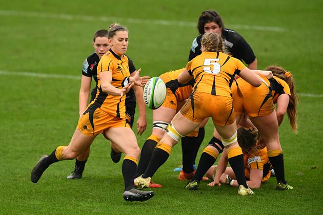 Coup de pied dans le rugby féminin