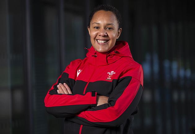 Sophie Spence's transition from player to coach