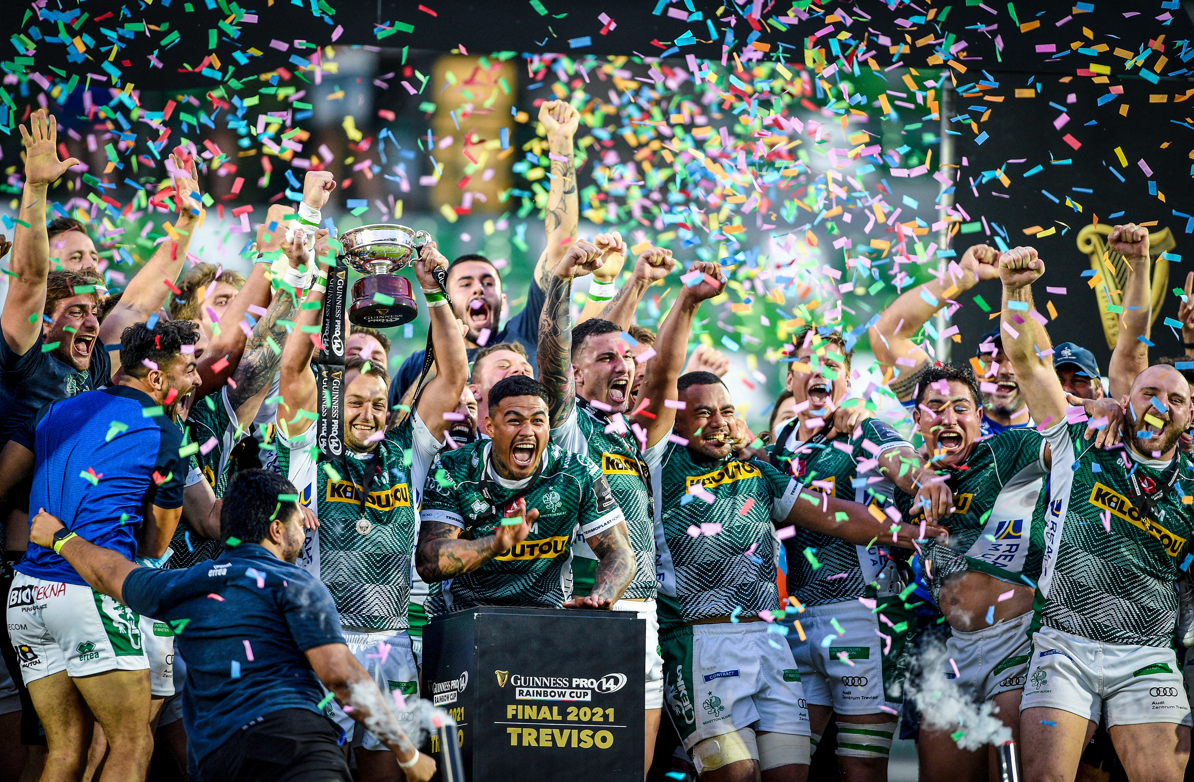 Benetton romp to Rainbow Cup victory against the Bulls