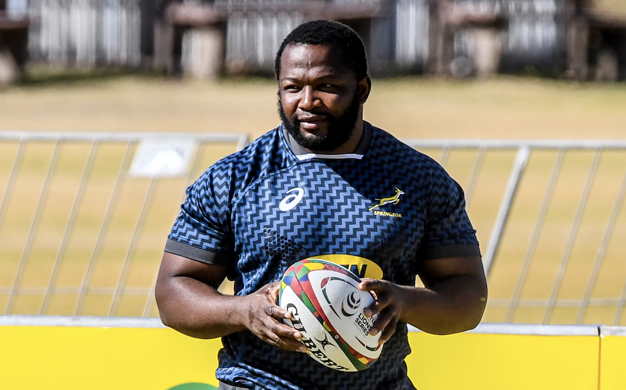 Ox Nché and Springboks could have fierce future together - Rugby World