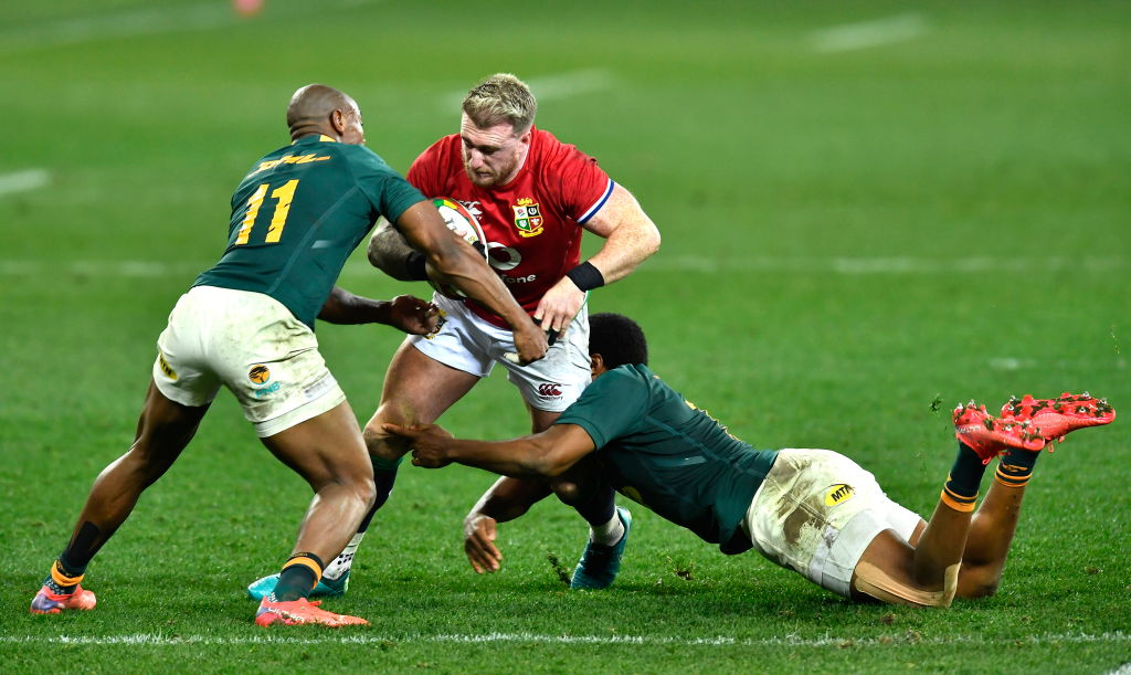 Lions Analysis: Springboks' tackle choice - Rugby World