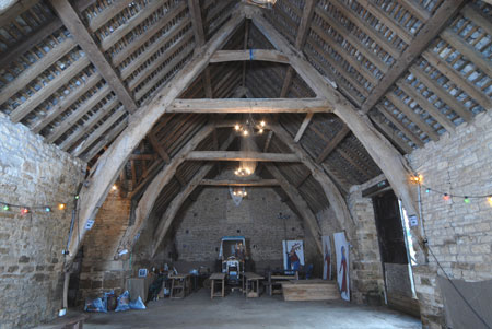 Tithe barn church enstone auction