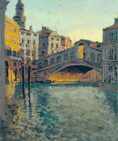 The Rialto Bridge 1901