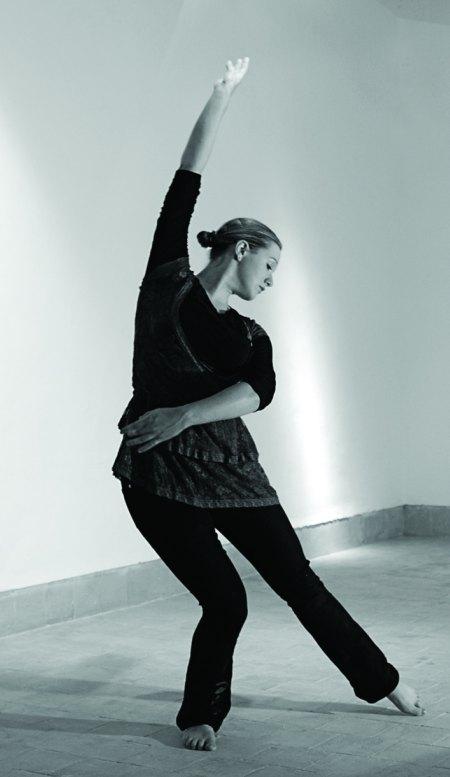 Marianka dancing