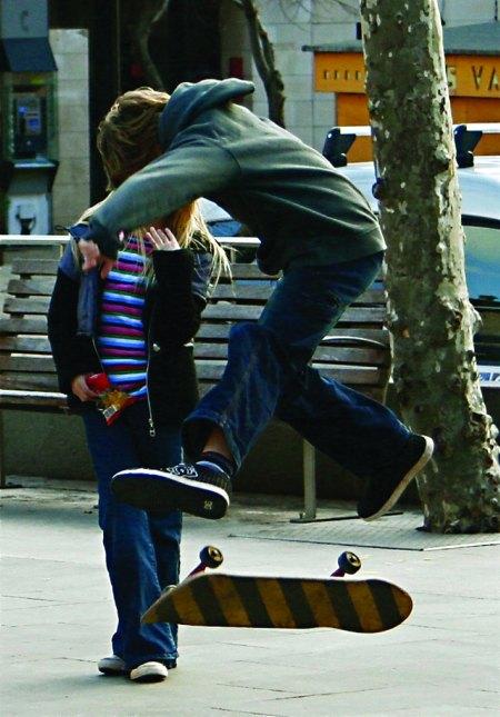 Skateboarder Pollensa Mallorca