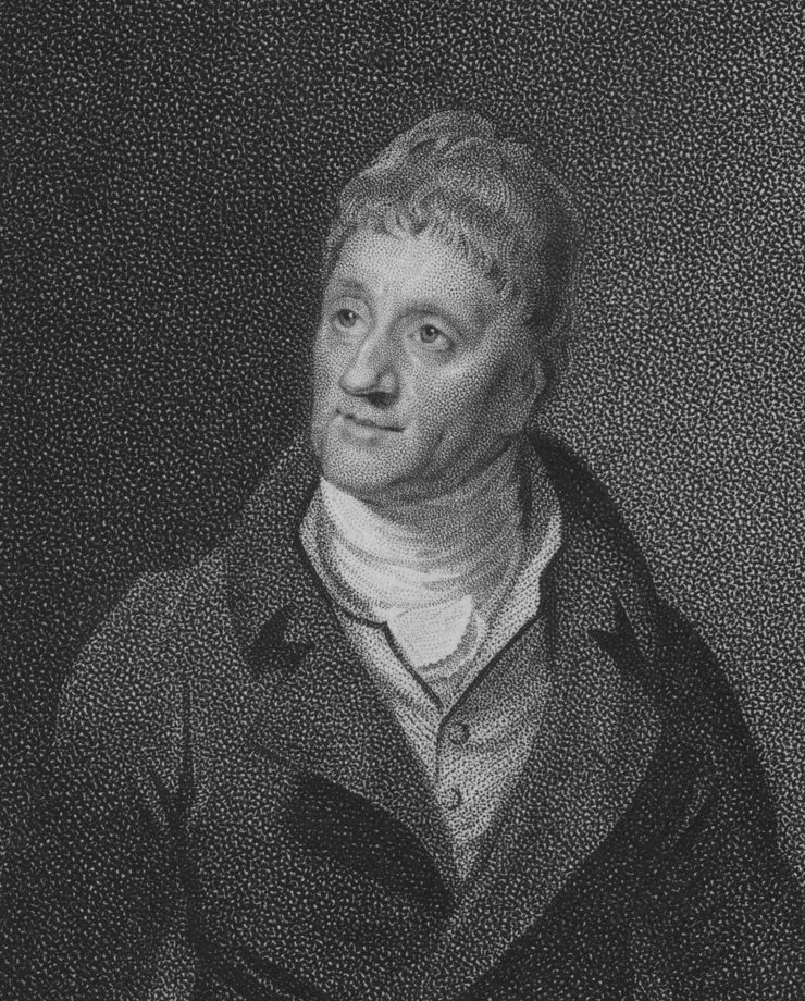 English architect Sir John Soane, RA, 1813. From the New York Public Library.