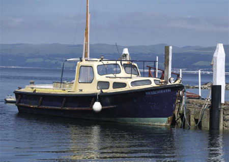 Little Cumbrae island boat
