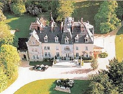 Resplendent chateau comes with its own airfield