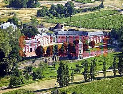 Grand Chateau in prime wine country
