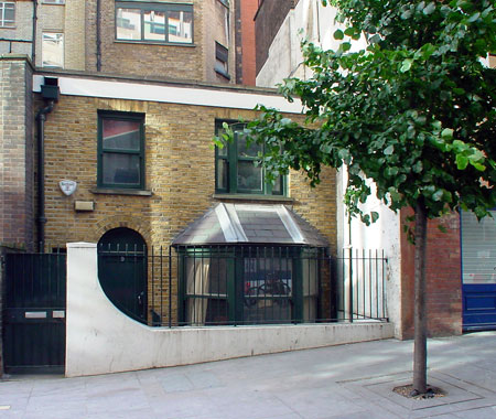 smallest house in mayfair