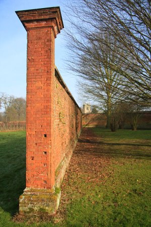 ickworth garden wall