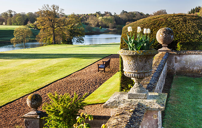 Bowood House in Wiltshire - a Capability Brown landscape