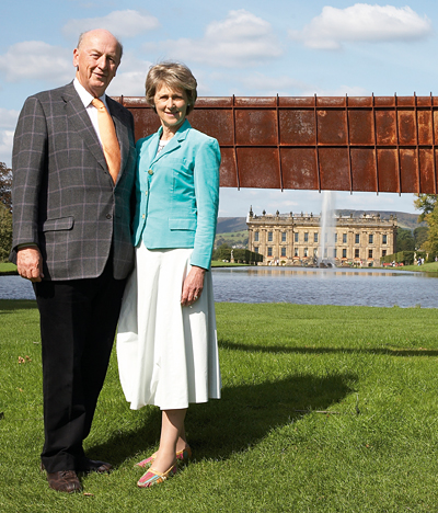 The Duke and Duchess of Devonshire