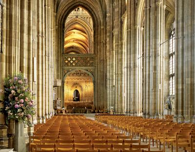 Canterbury nave