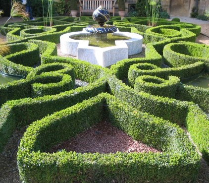Competition to design a castle garden country life for Knot garden designs herbs