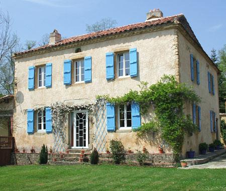 tennis house france