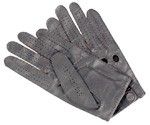 Hand-sewn leather driving gloves