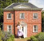 The magnificent Wendy house at the Sanctuary, Devon