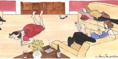 Dinner Party - Annie Tempest