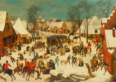 Massacre of the Innocents by Brueghel the Younger, with Dickinson