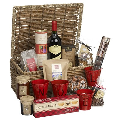 The best christmas hampers country life all of the traditional festive favourites come together in this beautiful hamper filled generously with scrumptious mince pies chutneys fruitcake and red solutioingenieria Gallery