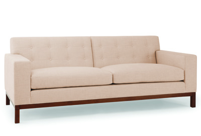 Simple, Clean Lines Ensure That This Two And A Half Seater Sofa Fits  Equally Well In Modern And Period Settings. It Is 32u2033 High, 84u2033 Wide And  36u2033 Deep (also ...