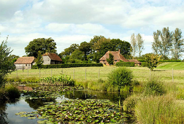 West Sussex equestrian property
