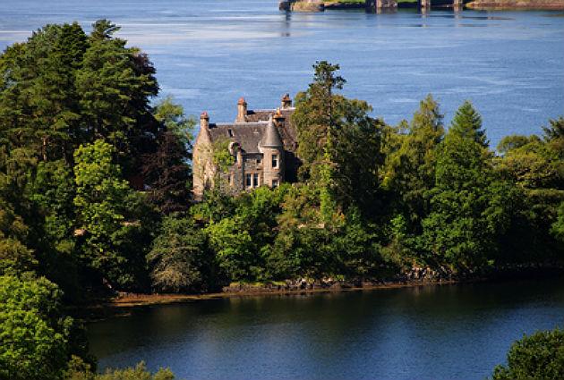 Dunfuinary house, Scotland