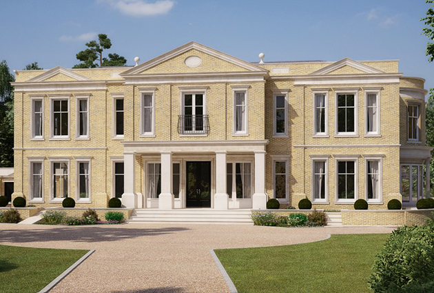 Surrey property for sale country life for Modern luxury homes for sale uk