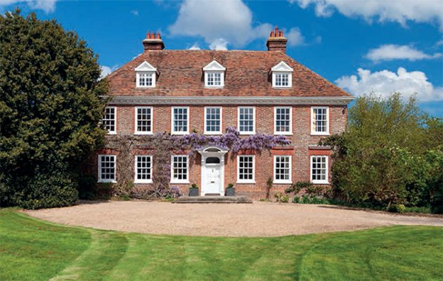 Superb country house with land in kent country life Queen anne house