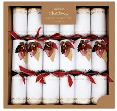 Brilliant Top Twelve Christmas Crackers Country Life Easy Diy Christmas Decorations Tissureus