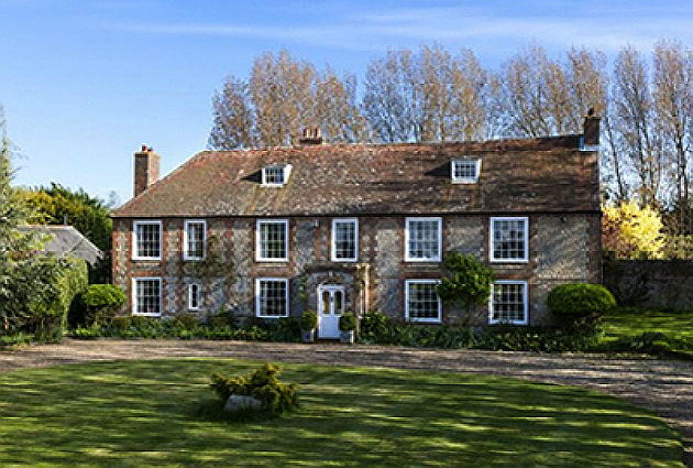 Georgian country house in West Sussex
