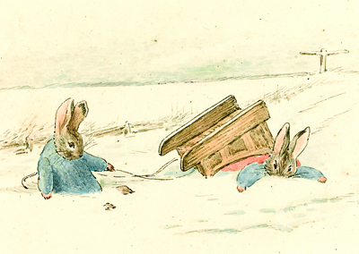Rabbit Christmas Cards