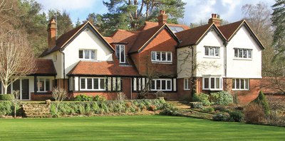 Rosemary Hill, Grantley, Surrey country houses