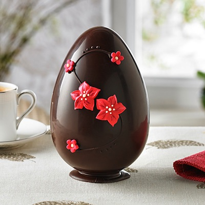 Dark Chocolate And Geranium Easter Egg GBP15 Bettys Flavoured With A Hint Of Decorated Sugar Paste Flowers This Will Delight