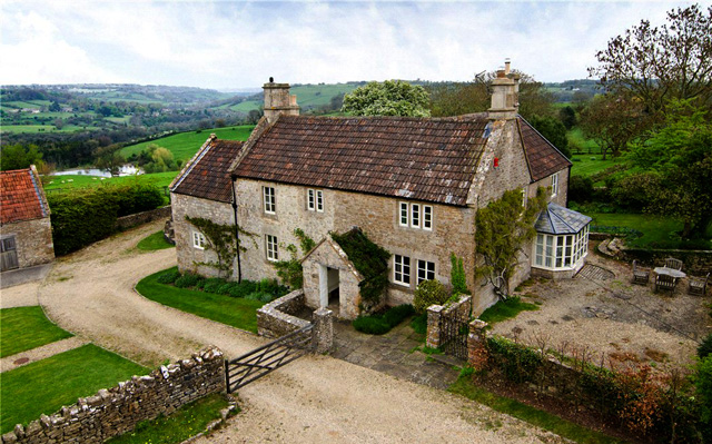 Former farmhouse near bath for Country home builders near me