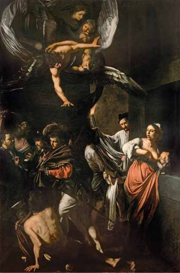 Allegra Hicks' favourite painting, The Seven Acts of Mercy by Michelangelo Merisi da Caravaggio.
