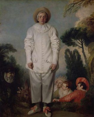 Barry Humphries' favourite painting, Pierrot (formerly known as Gilles) by Jean-Antoine Watteau.