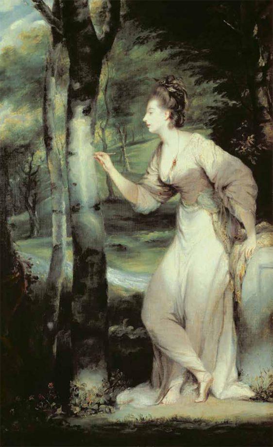 Bruce Oldfield's favourite painting, Mrs Richard Bennett Lloyd by Sir Joshua Reynolds.