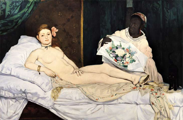 Brian Ferry's favourite painting, Olympia by Edouard Manet.