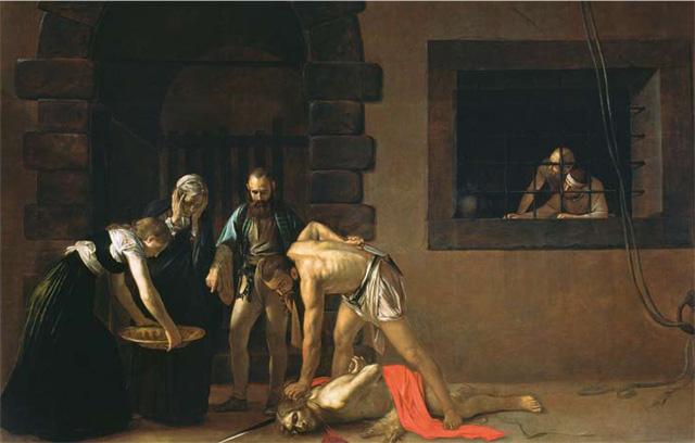 Charles Saumarez Smith's favourite painting, Beheading of John the Baptist by Michelangelo Merisi da Caravaggio.