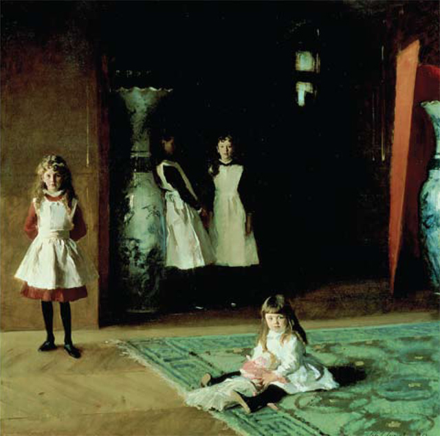 Craig Brown's favourite painting, The Daughters of Edward Darley Boit by John Singer Sargent.
