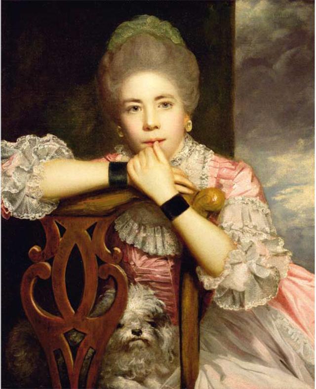 Dan Cruickshank's favourite painting, Mrs Abington as 'Miss Prue' by Sir Joshua Reynolds.